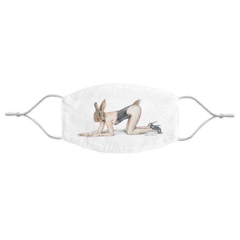Gentlemen's Hare Accessories Face Mask by MelJo JoJo's Artist Shop