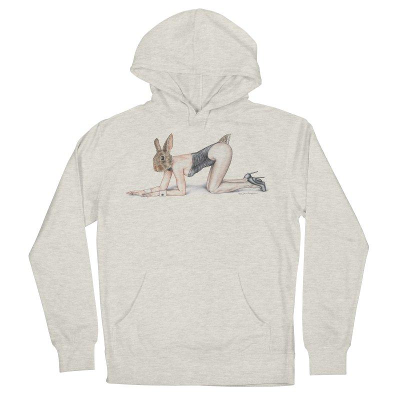 Gentlemen's Hare Men's Pullover Hoody by MelJo JoJo's Artist Shop