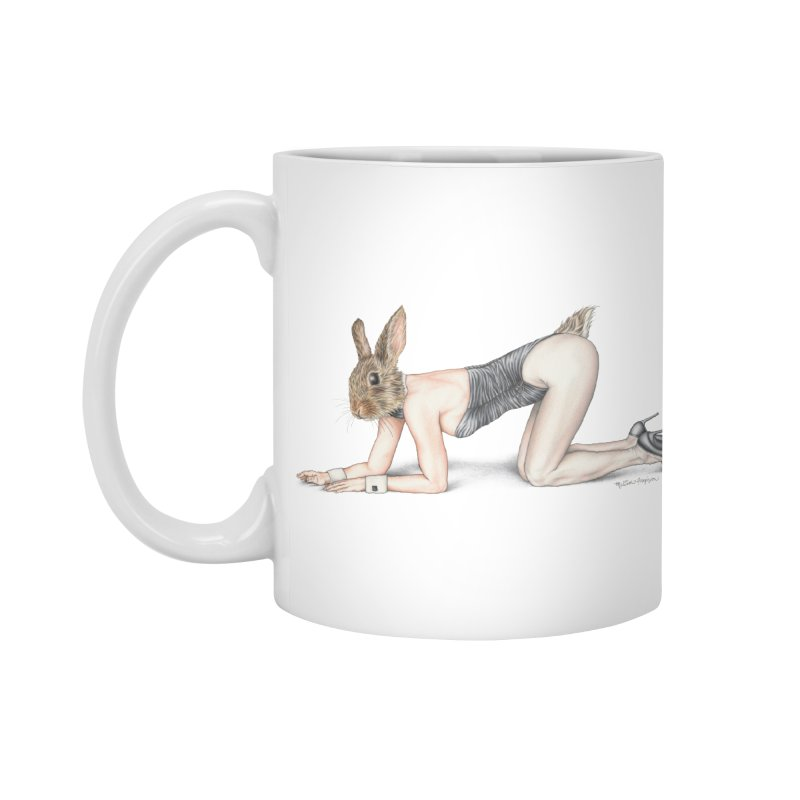 Gentlemen's Hare Accessories Standard Mug by MelJo JoJo's Artist Shop