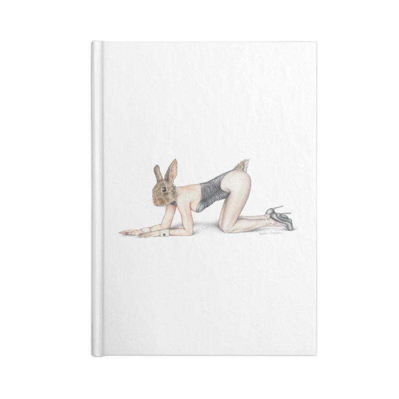 Gentlemen's Hare Accessories Notebook by MelJo JoJo's Artist Shop