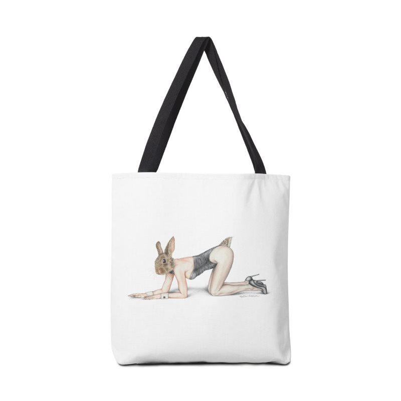 Gentlemen's Hare Accessories Bag by MelJo JoJo's Artist Shop