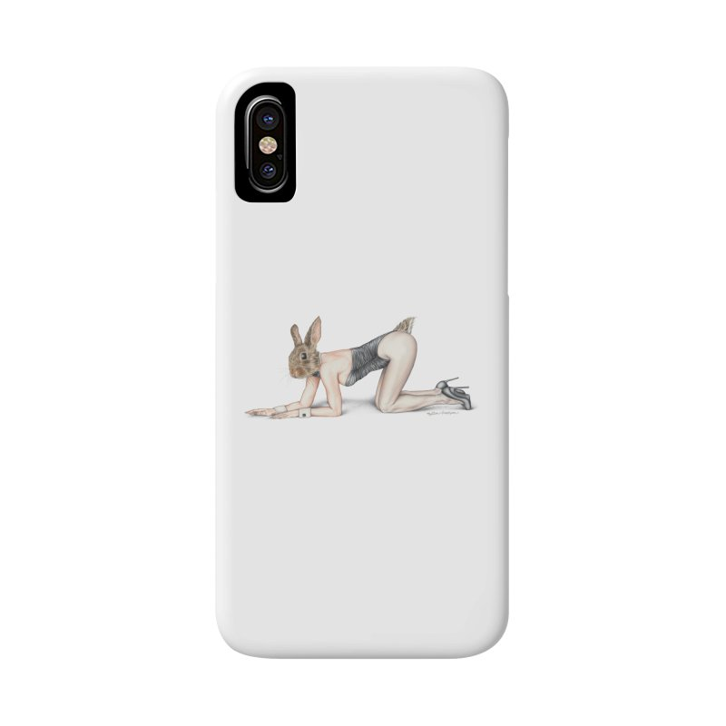 Gentlemen's Hare Accessories Phone Case by MelJo JoJo's Artist Shop
