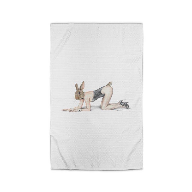 Gentlemen's Hare Home Rug by MelJo JoJo's Artist Shop