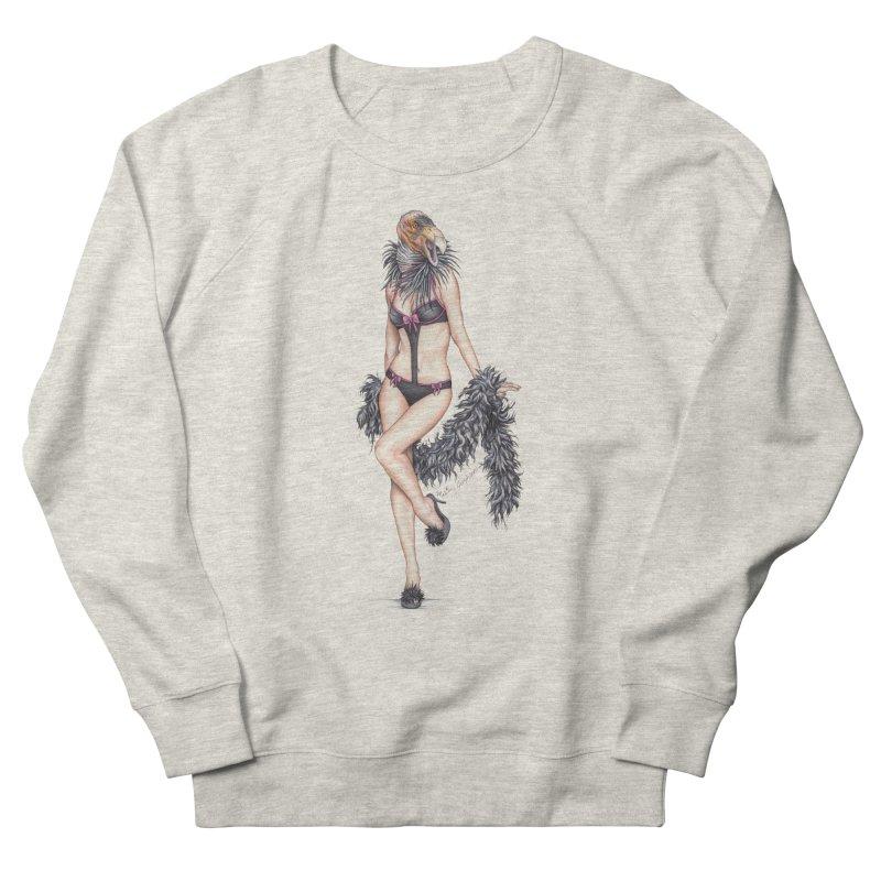 California Condor Gurl - Home & Accessories Men's French Terry Sweatshirt by MelJo JoJo's Artist Shop