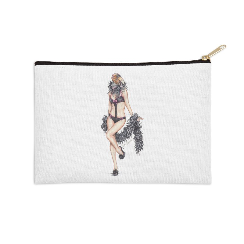 California Condor Gurl - Home & Accessories Accessories Zip Pouch by MelJo JoJo's Artist Shop