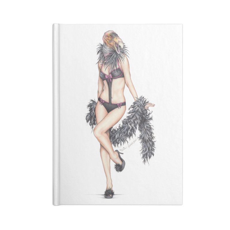 California Condor Gurl - Home & Accessories Accessories Notebook by MelJo JoJo's Artist Shop