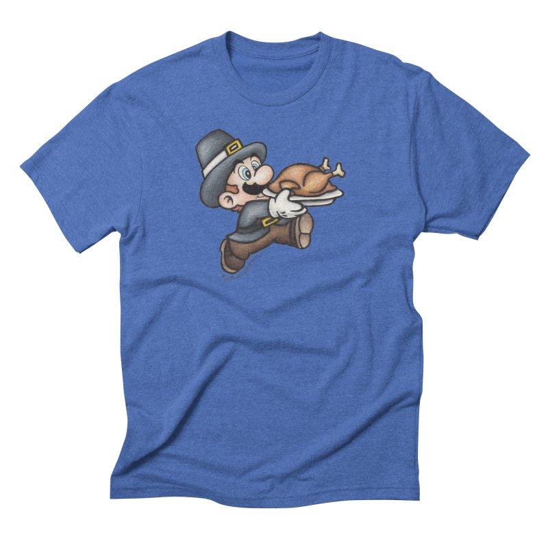 Super Pilgrim Men's T-Shirt by MelJo JoJo's Artist Shop