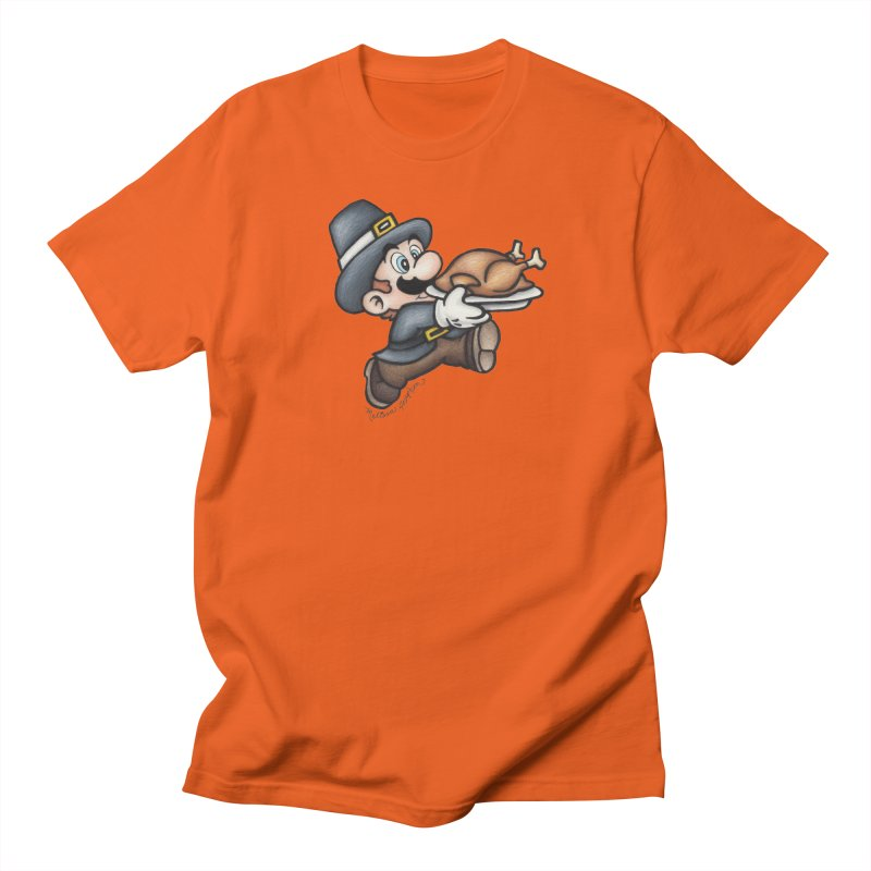 Super Pilgrim Men's T-Shirt by MelJo JoJo's Artist Shop