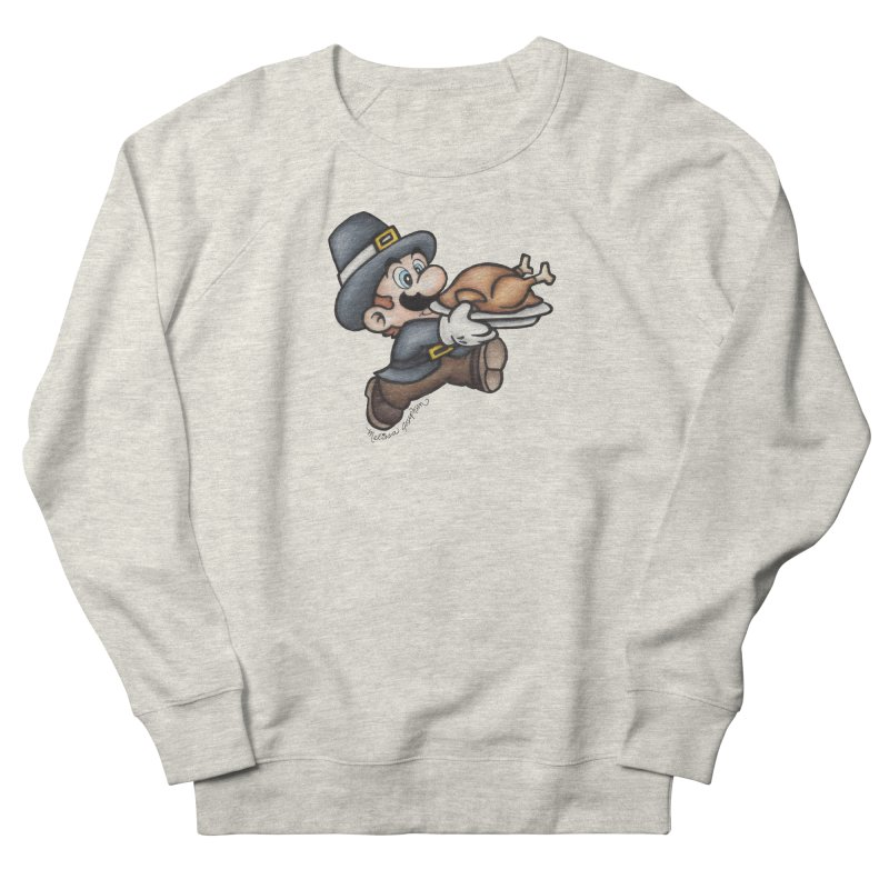 Super Pilgrim Women's Sweatshirt by MelJo JoJo's Artist Shop