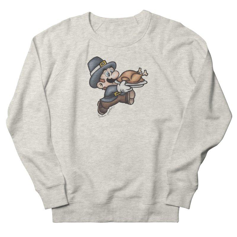 Super Pilgrim Men's Sweatshirt by MelJo JoJo's Artist Shop