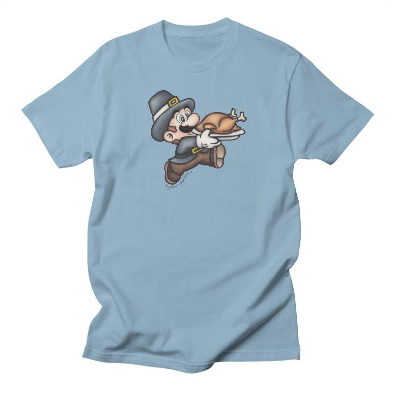 Super Pilgrim Men's Regular T-Shirt by MelJo JoJo's Artist Shop