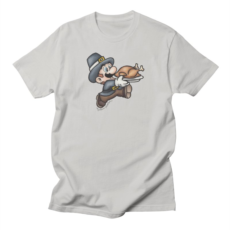 Super Pilgrim Men's Regular T-Shirt by MelJo JoJo's Artist Shop