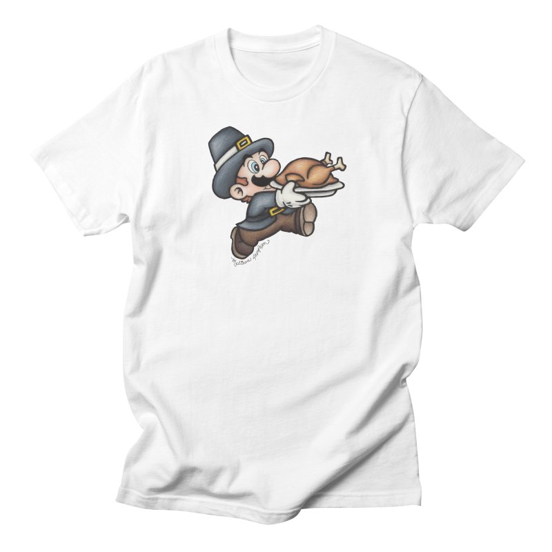 Super Pilgrim Women's T-Shirt by MelJo JoJo's Artist Shop