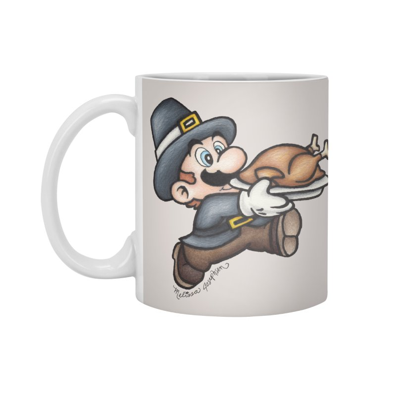 Super Pilgrim Accessories Standard Mug by MelJo JoJo's Artist Shop