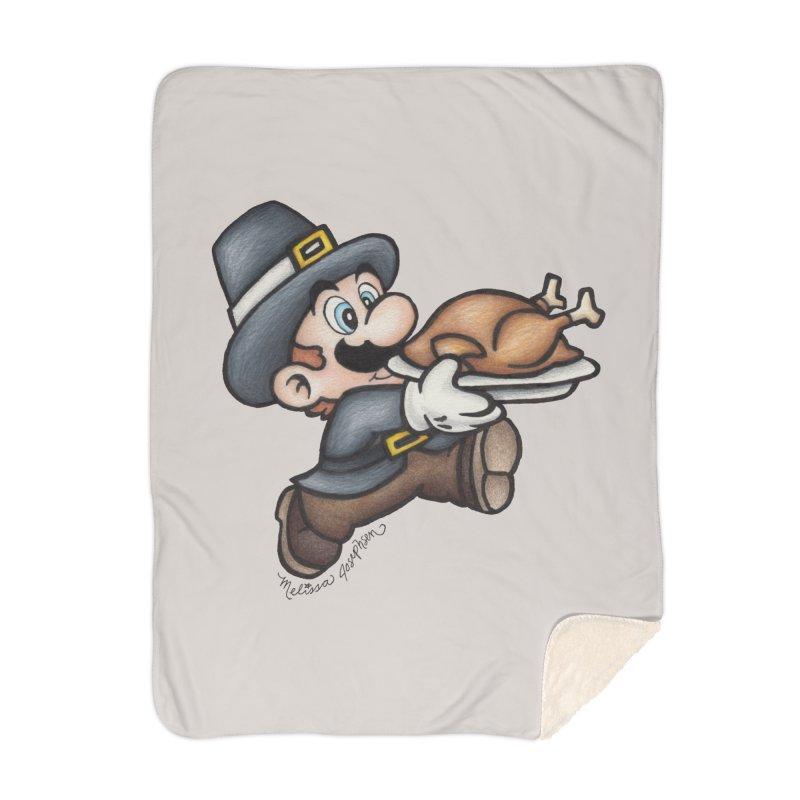 Super Pilgrim Home Blanket by MelJo JoJo's Artist Shop
