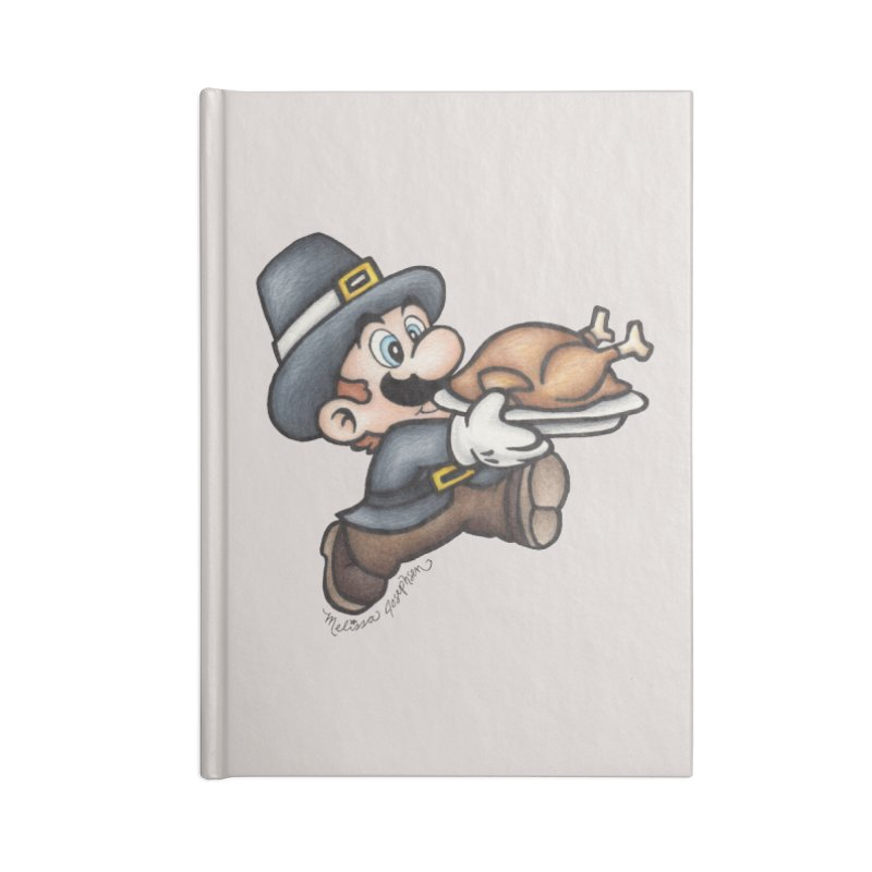 Super Pilgrim Accessories Lined Journal Notebook by MelJo JoJo's Artist Shop