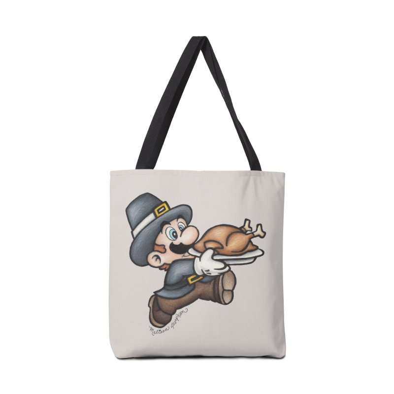 Super Pilgrim Accessories Tote Bag Bag by MelJo JoJo's Artist Shop