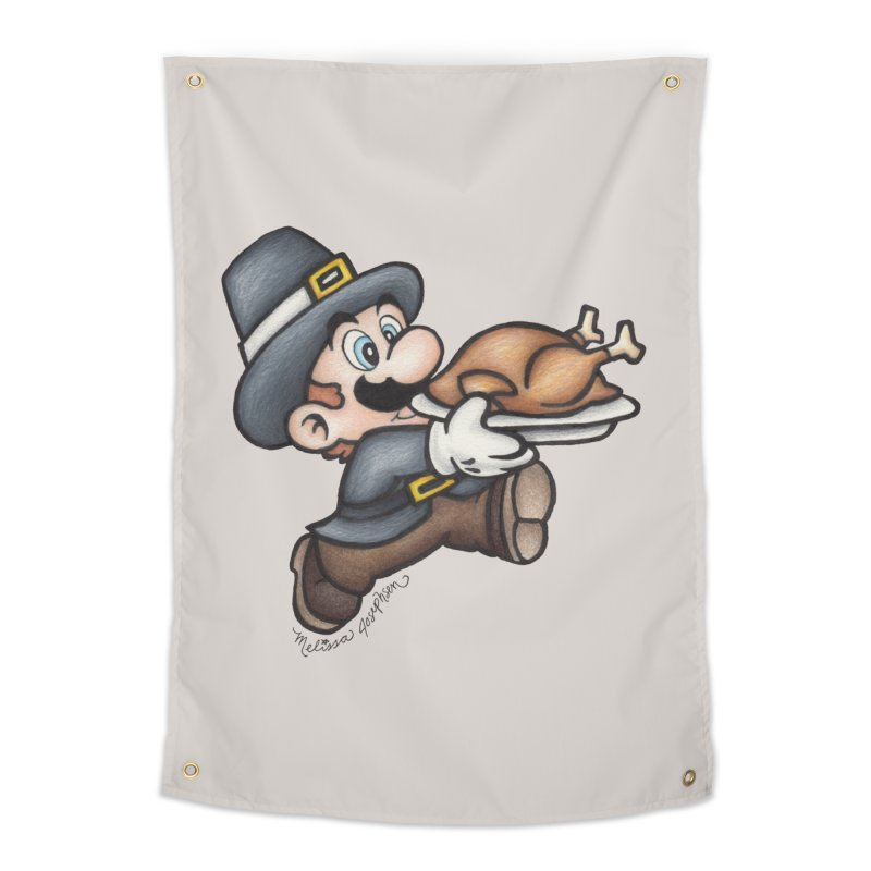 Super Pilgrim Home Tapestry by MelJo JoJo's Artist Shop