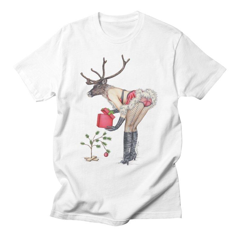 Santa's Secret Helper Women's T-Shirt by MelJo JoJo's Artist Shop