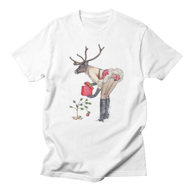 Santa's Secret Helper Men's T-Shirt by MelJo JoJo's Artist Shop