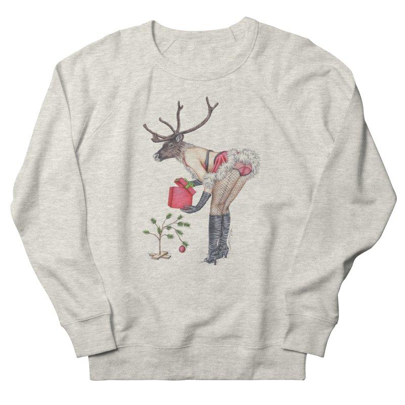 Santa's Secret Helper Women's Sweatshirt by MelJo JoJo's Artist Shop