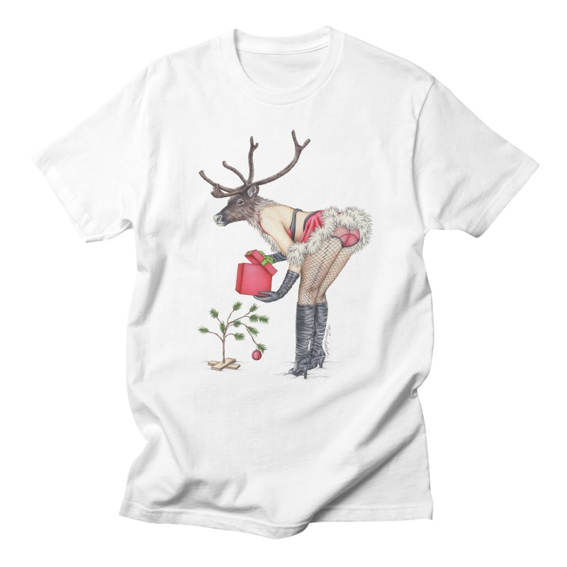 Santa's Secret Helper Women's Regular Unisex T-Shirt by MelJo JoJo's Artist Shop