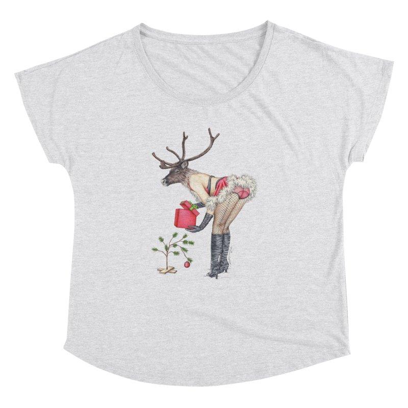 Santa's Secret Helper Women's Dolman by MelJo JoJo's Artist Shop