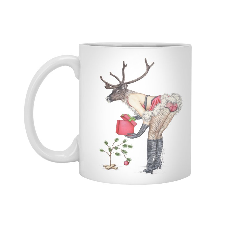 Santa's Secret Helper Accessories Standard Mug by MelJo JoJo's Artist Shop