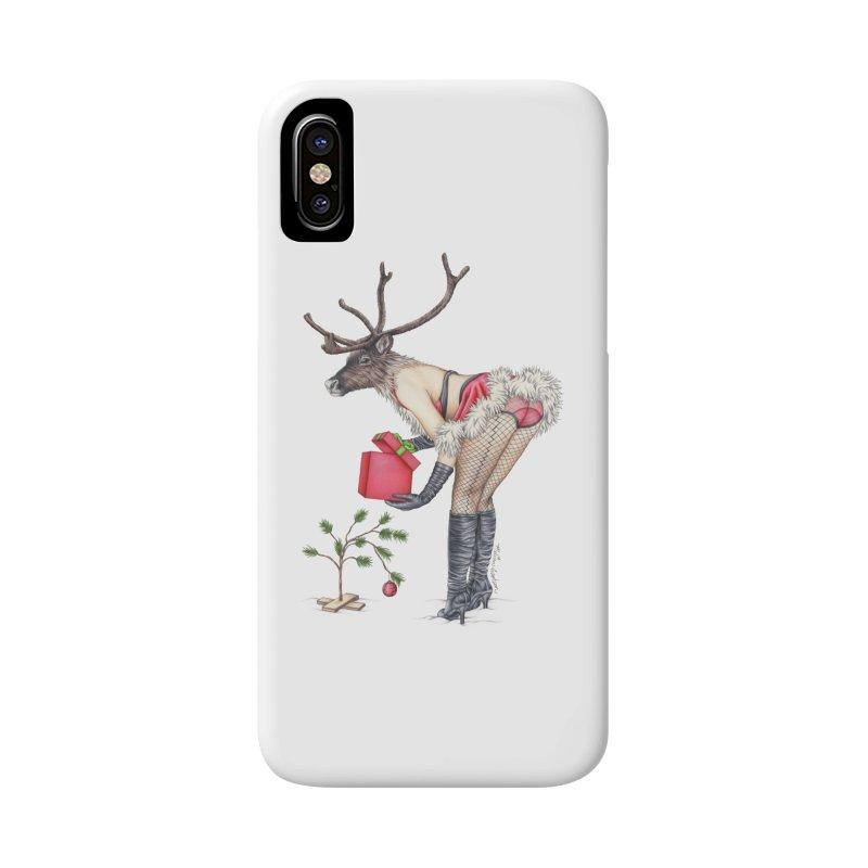 Santa's Secret Helper Accessories Phone Case by MelJo JoJo's Artist Shop