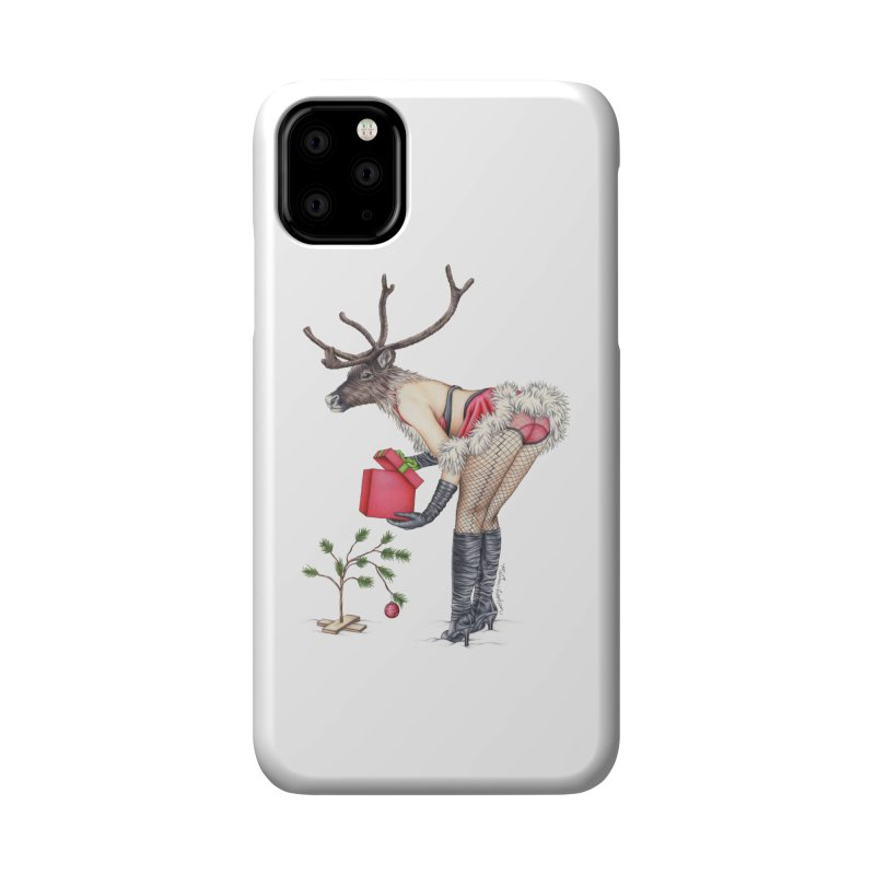 Santa's Secret Helper Accessories Phone Case by MelJo JoJo's Artist Shop