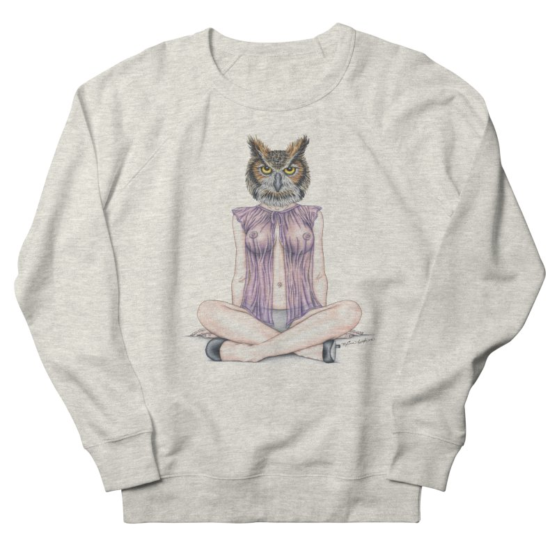 Lady of the Night Men's Sweatshirt by MelJo JoJo's Artist Shop