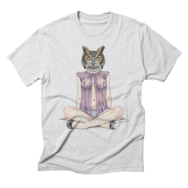 Lady of the Night Men's Triblend T-Shirt by MelJo JoJo's Artist Shop
