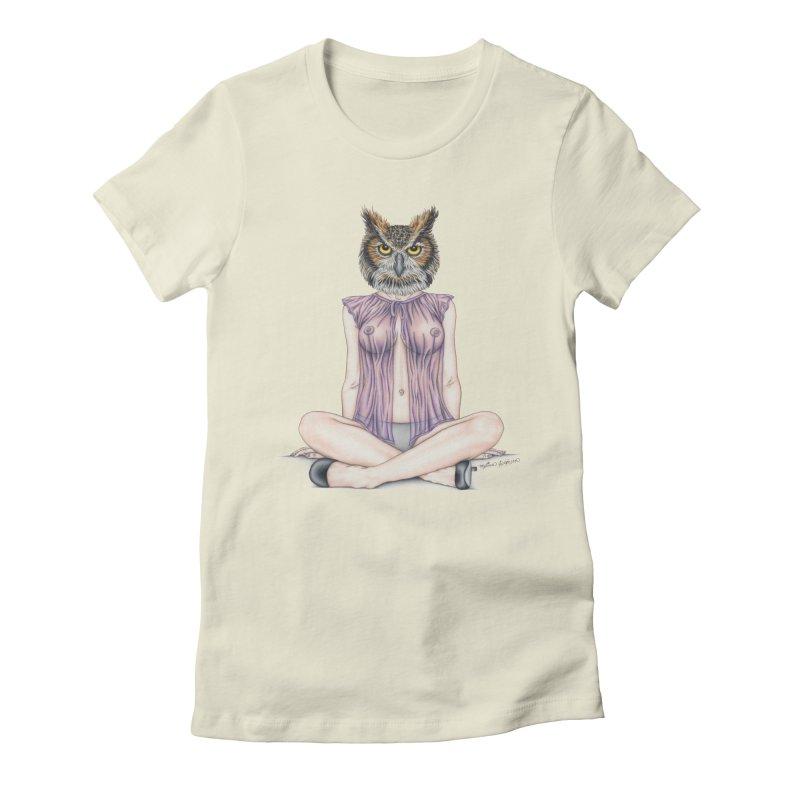 Lady of the Night Women's T-Shirt by MelJo JoJo's Artist Shop