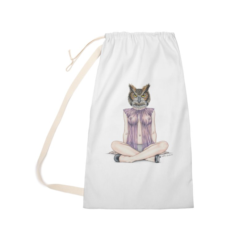 Lady of the Night Accessories Bag by MelJo JoJo's Artist Shop