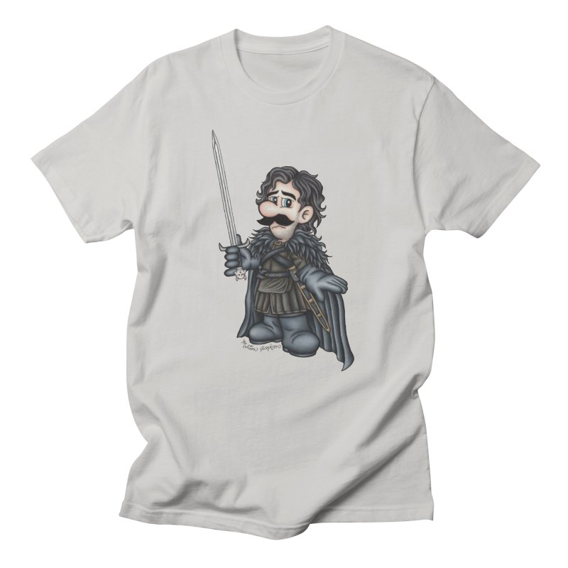 Bastard of the Mushroom Kingdom Men's T-Shirt by MelJo JoJo's Artist Shop