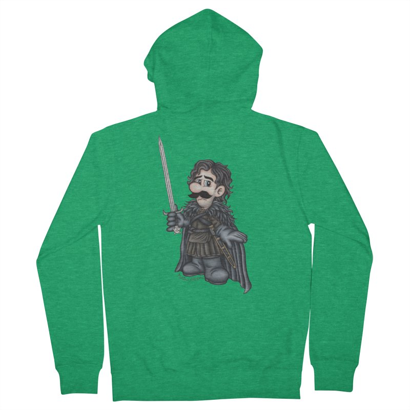 Bastard of the Mushroom Kingdom Women's Zip-Up Hoody by MelJo JoJo's Artist Shop