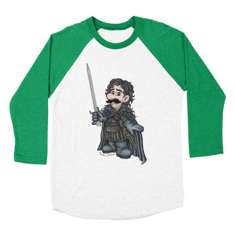 Bastard of the Mushroom Kingdom Men's Longsleeve T-Shirt by MelJo JoJo's Artist Shop