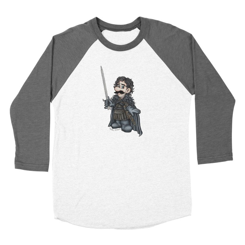 Bastard of the Mushroom Kingdom Women's Longsleeve T-Shirt by MelJo JoJo's Artist Shop