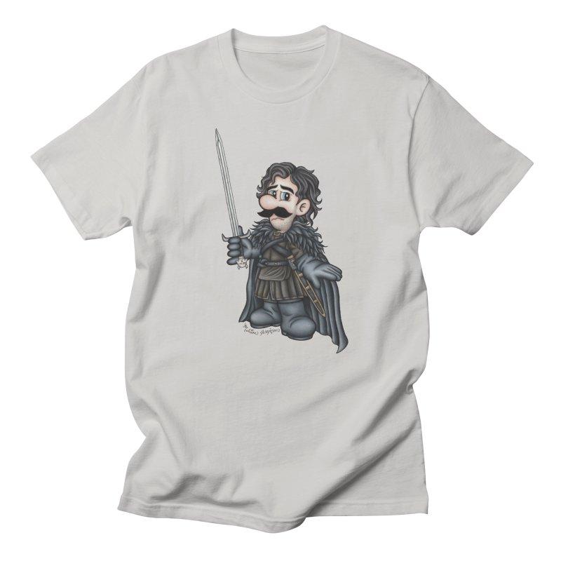 Bastard of the Mushroom Kingdom Men's Regular T-Shirt by MelJo JoJo's Artist Shop