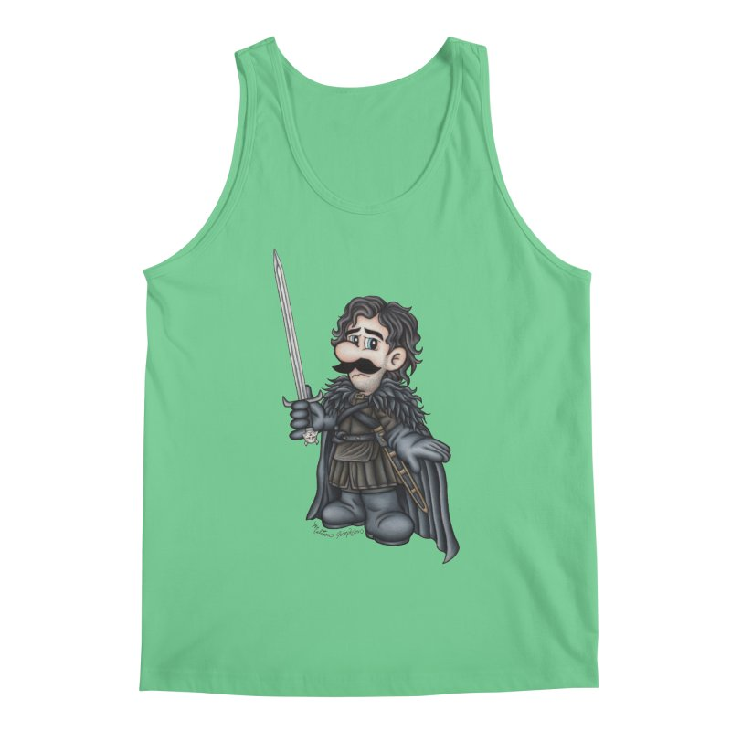 Bastard of the Mushroom Kingdom Men's Regular Tank by MelJo JoJo's Artist Shop