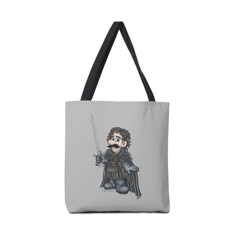 Bastard of the Mushroom Kingdom Accessories Tote Bag Bag by MelJo JoJo's Artist Shop