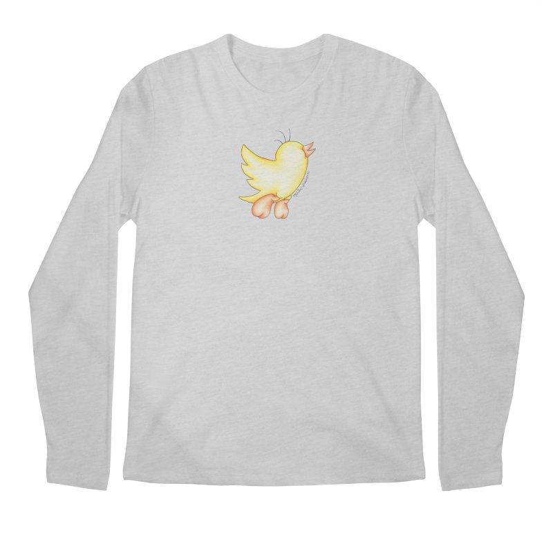 Tweeter Men's Regular Longsleeve T-Shirt by MelJo JoJo's Artist Shop