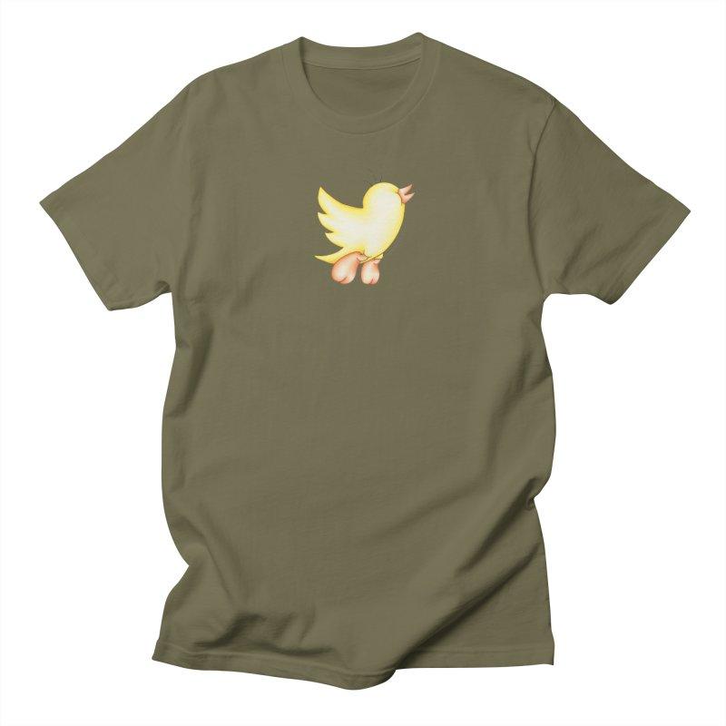 Tweeter Men's Regular T-Shirt by MelJo JoJo's Artist Shop