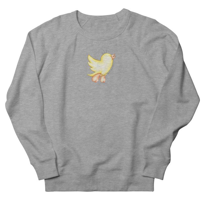 Tweeter Women's French Terry Sweatshirt by MelJo JoJo's Artist Shop