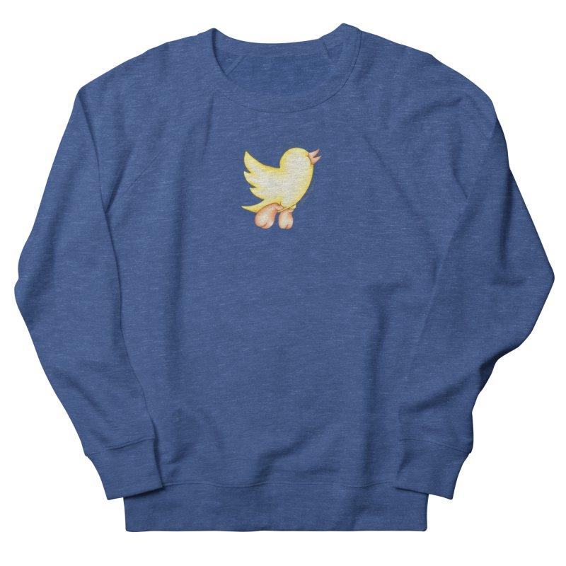 Tweeter Men's French Terry Sweatshirt by MelJo JoJo's Artist Shop