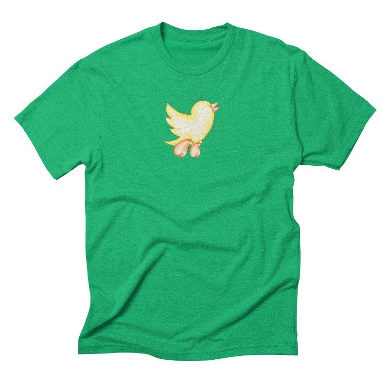 Tweeter Men's Triblend T-Shirt by MelJo JoJo's Artist Shop
