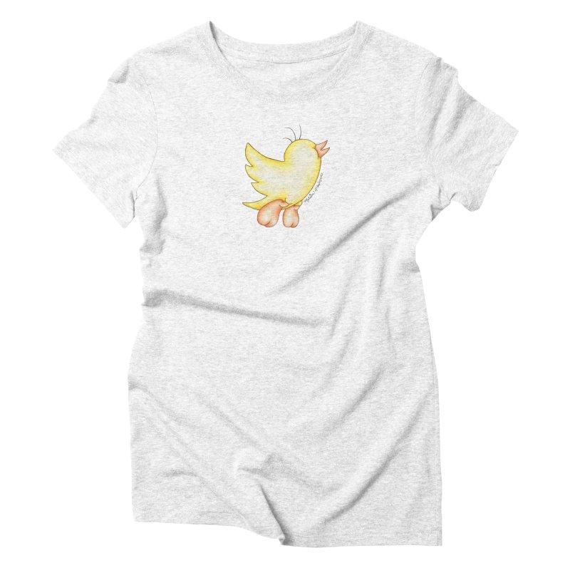 Tweeter Women's Triblend T-shirt by MelJo JoJo's Artist Shop