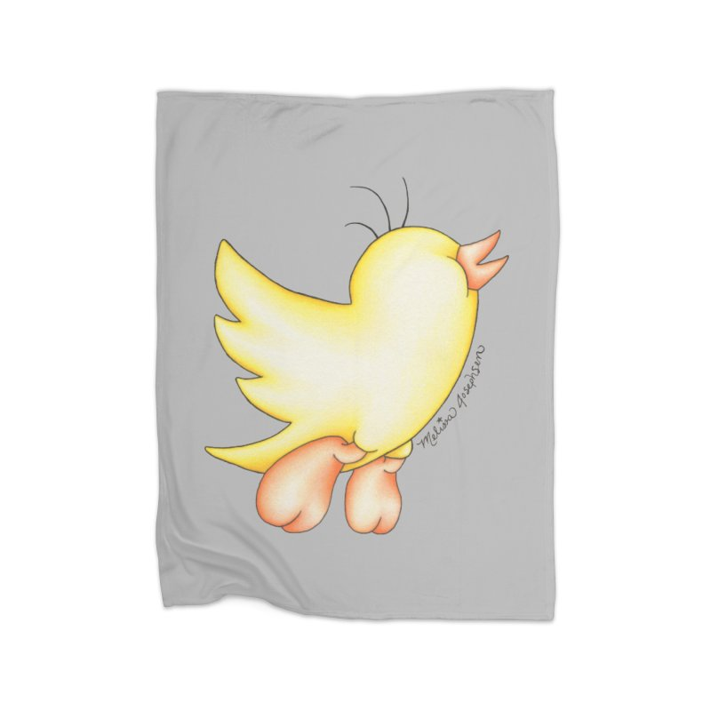 Tweeter Home Blanket by MelJo JoJo's Artist Shop