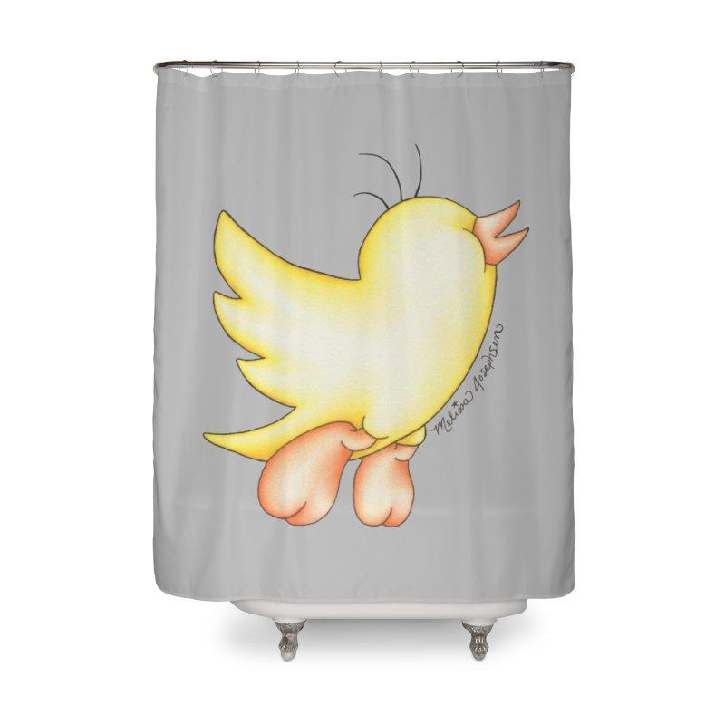 Tweeter Home Shower Curtain by MelJo JoJo's Artist Shop