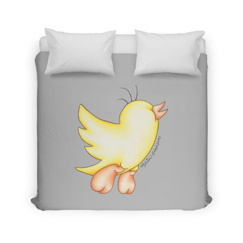 Tweeter Home Duvet by MelJo JoJo's Artist Shop